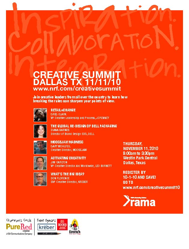 DON CREATIVE SUMMIT FLYER